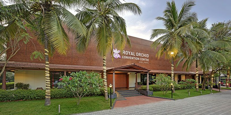 Royal Orchid Resort Entrance